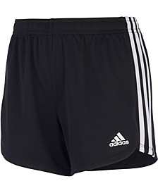 Big Girls 3-Stripe Mesh Shorts