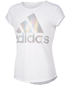 Big Girls Replenishment Rainbow Foil T-shirts