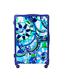 "Macbeth Collection 25"" Sailing Serafina Trunk Spinner Suitcase"