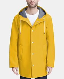 Men's Mid-Length Rain Jacket, Created for Macy's