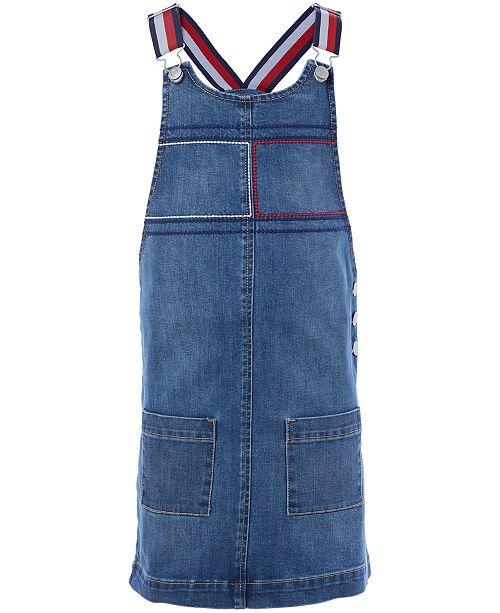Tommy Hilfiger Big Girls Denim Skirtall