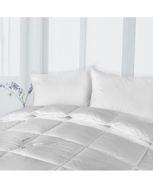 Epoch Hometex inc Stayclean Down Alternative Cotton Comforter with Stain Protection