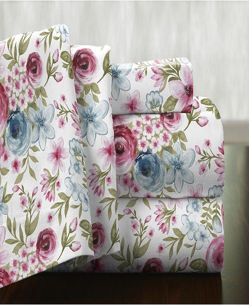 Pointehaven Superior Weight Cotton Flannel Sheet Set - Full