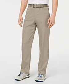 Men's Flat Front Pants, Created for Macy's