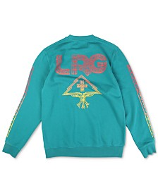 LRG Men's Sun Burst Graphic Sweatshirt