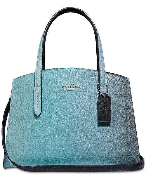 8c187b6a9f COACH Charlie Carryall 28 in Ombre Leather & Reviews - Handbags ...