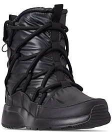 Nike Women's Tanjun High Rise High Top Sneaker Boots from Finish Line