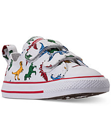 Converse Toddler Boys' Chuck Taylor All Star Dinoverse Casual Sneakers from Finish Line