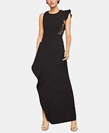 BCBGMAXAZRIA One-Sleeve Asymmetrical Dress