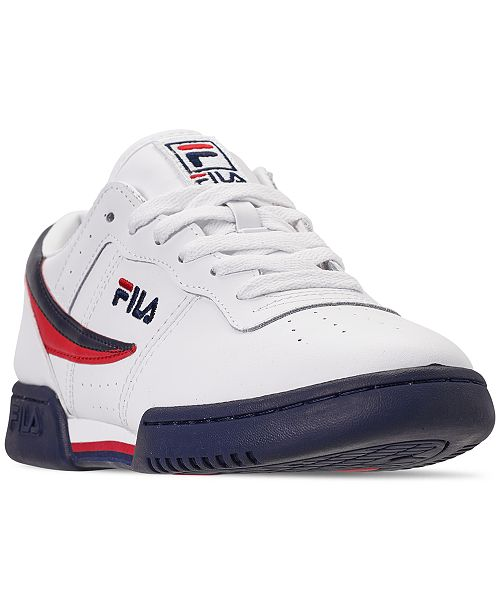 info for 3a499 38628 ... Fila Men s Original Fitness Casual Athletic Sneakers from Finish ...