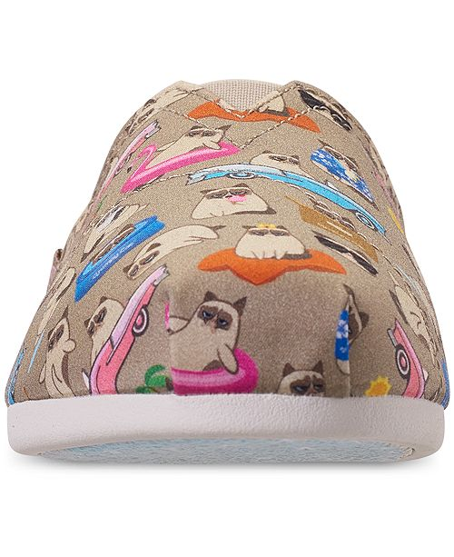 Skechers Women S Bobs Plush Grumpy Vacay Bobs For Dogs