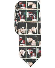 Original Penguin Men's Bowling Shoes Skinny Tie