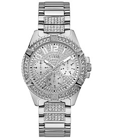GUESS Women's Lady Frontier Stainless Steel Bracelet Watch 40mm