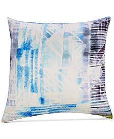 """Dessi Multicolor Silk 20""""x20"""" Decorative Pillow"""