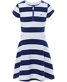 Tommy Hilfiger Big Girls Rugby Stripe Dress