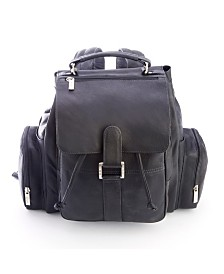 Royce New York Expandable Backpack