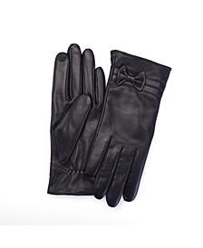 Lambskin Women's Touchscreen Cashmere Gloves