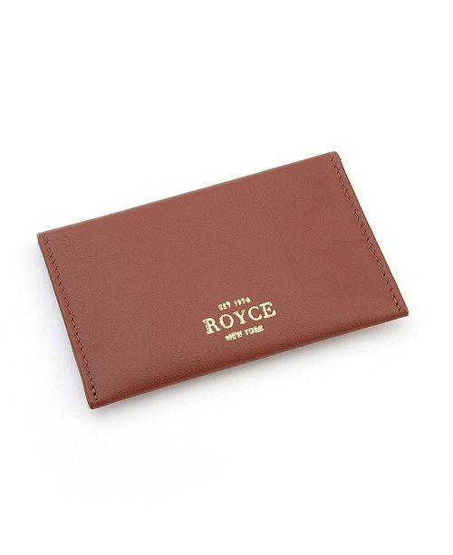 Royce Leather Royce New York Envelope Credit Card Case