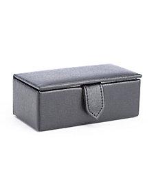 Royce New York Suede Lined Cufflink Box