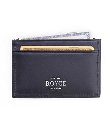 Royce New York RFID Blocking Credit Card Case