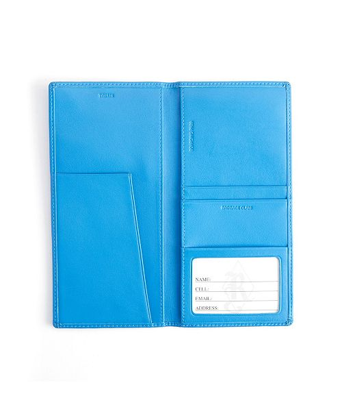 Royce Leather Royce New York RFID Blocking Passport Document Organizer