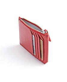 Royce New York Zippered Credit Card Wallet