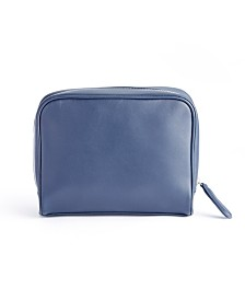Royce New York Toiletry Bag with Front Zipper Compartment