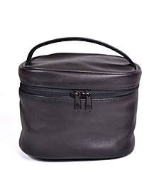 Royce New York Cosmetic Bag with Top Handle