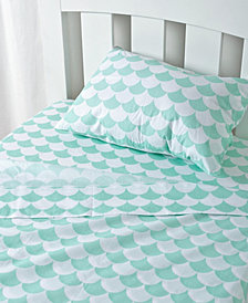 Lolli Living Toddler Sheet Set - Pillowcase, Flat Sheet, Fitted Sheet