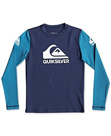 Toddler Boys Heats On Graphic Rash Guard