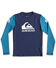 Quiksilver Little Boys' HEATS ON LS BOY