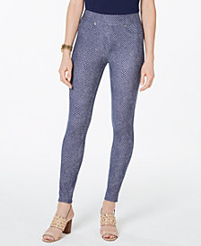 MICHAEL Michael Kors Patch-Pocket Leggings, Regular & Petite
