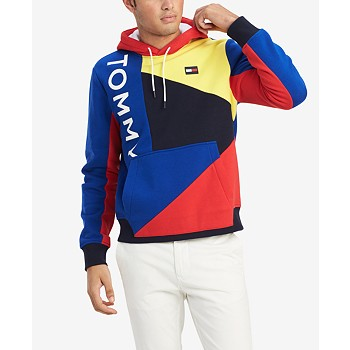 Tommy Hilfiger Men's Finesse Colorblocked Hoodie