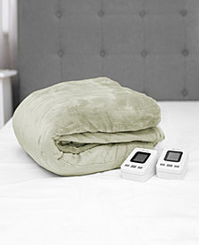 SensorPEDIC  King Warming Blanket with Two Digital Controllers