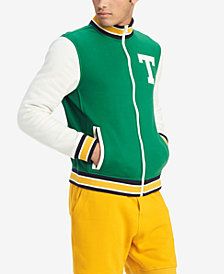 Tommy Hilfiger Men's Colorblocked Varsity Jacket, Created for Macy's