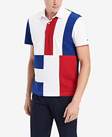 Tommy Hilfiger Men's Colorblocked Morris Polo, Created for Macy's