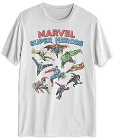 Marvel Superheroes Men's Graphic T-Shirt