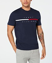 b59ec1333 Tommy Hilfiger Men's Big and Tall Logo-Print T-Shirt, Created for Macy's