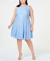 ab505e5e45a City Studios Trendy Plus Size Lace A-Line Dress