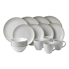 Royal Doulton Exclusively for Maze Grill Hammer White 16-Piece Set