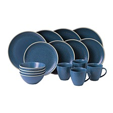 Royal Doulton Exclusively for Maze Grill Hammer Blue 16-Piece Set