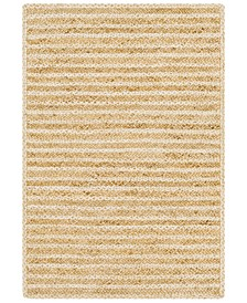 Jambi Jute JBI-1001 Wheat 8' x 10' Area Rug
