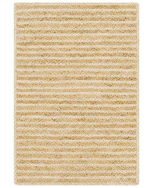 "Surya Jambi Jute JBI-1001 Wheat 5' x 7'6"" Area Rug"
