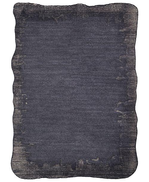 Surya Mezcla MEZ-1000 Black 2' x 3' Area Rug