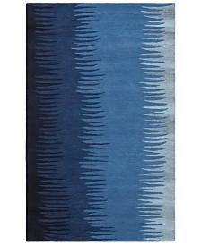 Surya Mosaic MOS-1086 Bright Blue 2' x 3' Area Rug
