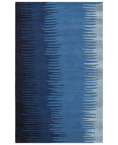 """Surya Mosaic MOS-1086 Bright Blue 3'3"""" x 5'3"""" Area Rug"""