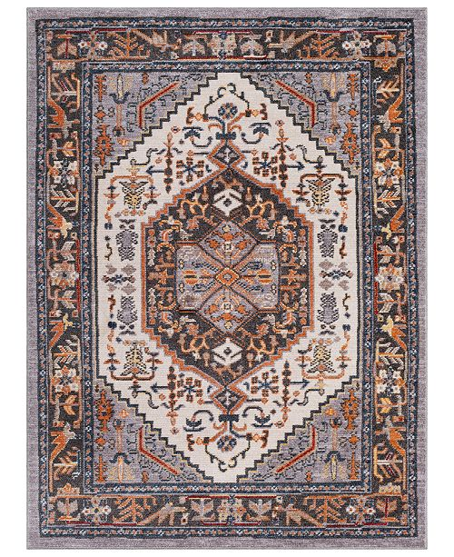 "Surya Patina PIA-2308 Medium Gray 7'10"" x 10'3"" Area Rug"