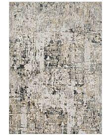 "Quatro QUA-2300 Medium Gray 9'3"" x 12'3"" Area Rug"