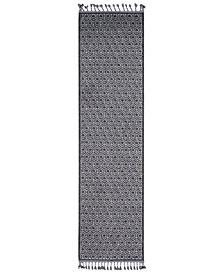 "Surya Restoration REO-2305 Charcoal 2'7"" x 10' Runner Area Rug"