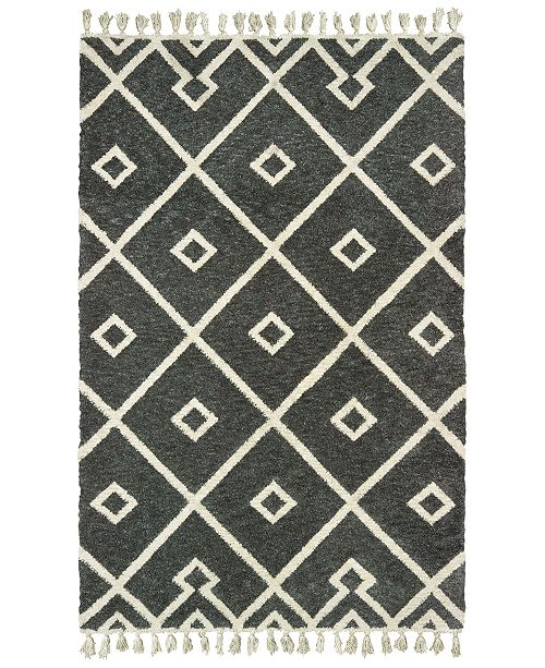 Oriental Weavers Madison 61407 Gray/Ivory 10' x 13' Area Rug